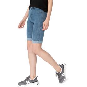DUER Performance Denim Commuter Shorts Dames, blauw